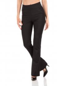 Patrizia Pepe | Pantalon Lara | zwart   | Afbeelding 2