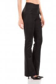Patrizia Pepe | Pantalon Lara | zwart   | Afbeelding 4