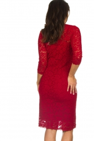 Rosemunde |  Lace dress Julie | red  | Picture 5