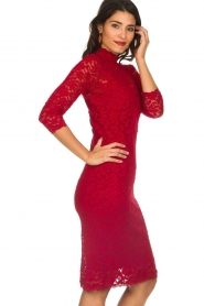 Rosemunde |  Lace dress Julie | red  | Picture 4