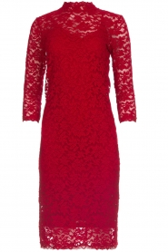 Rosemunde |  Lace dress Julie | red  | Picture 1