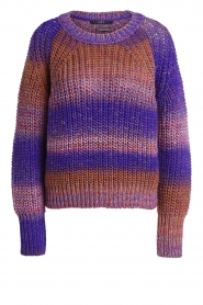 Set |  Knitted sweater Christy | purple  | Picture 1