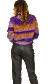 Set |  Knitted sweater Christy | purple  | Picture 6