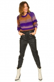Set |  Knitted sweater Christy | purple  | Picture 3