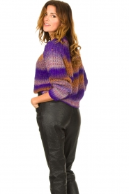 Set |  Knitted sweater Christy | purple  | Picture 5
