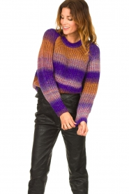 Set |  Knitted sweater Christy | purple  | Picture 4