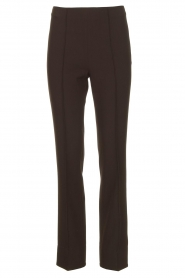 Notes Du Nord |  Slightly flared trousers Anabelle | black  | Picture 1