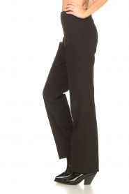 Notes Du Nord |  Slightly flared trousers Anabelle | black  | Picture 5