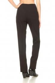 Notes Du Nord |  Slightly flared trousers Anabelle | black  | Picture 6