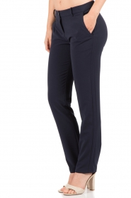 Patrizia Pepe |  Trouser Blu | dark blue  | Picture 4