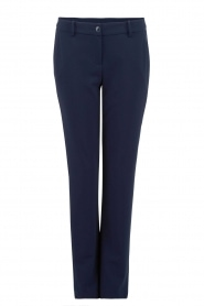 Patrizia Pepe |  Trouser Blu | dark blue  | Picture 1