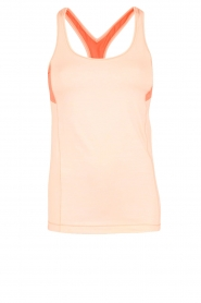 Casall | Sporttop Structured | neonroze  | Afbeelding 1