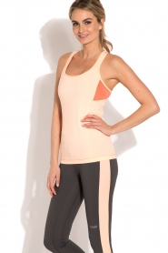Casall | Sporttop Structured | neonroze  | Afbeelding 2