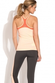 Casall | Sporttop Structured | neonroze  | Afbeelding 5