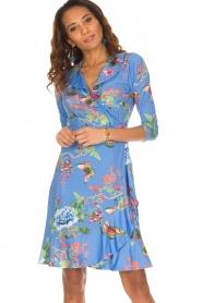 Hale Bob |  Dress Janelle | blue   | Picture 7