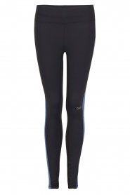 Sportlegging Structured Panel | donkerblauw