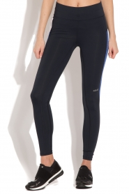 Casall | Sportlegging Structured Panel | donkerblauw  | Afbeelding 4
