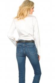 Notes Du Nord |  Poplin blouse Alia | white  | Picture 7