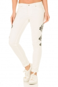 Skinny Jeans Graphic length 30 | white