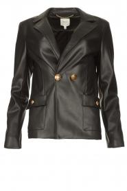 Kocca |  Faux leather blazer Rohana | black  | Picture 1