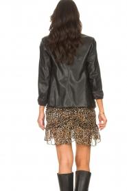 Kocca |  Faux leather blazer Rohana | black  | Picture 6