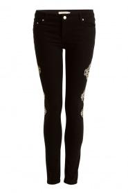 NIKKIE | Skinny Jeans Graphic lengtemaat 30 | zwart  | Afbeelding 1