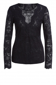 Set |  Lace stretch top Nuy | black  | Picture 1