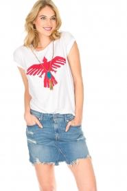 Leon & Harper | T-shirt Condor | wit  | Afbeelding 4