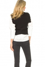 Kocca |  Spencer with ruffles Bjorn | black  | Picture 7