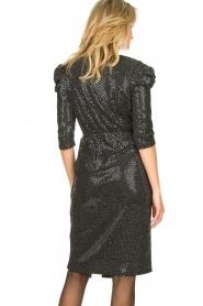 Set |  Lurex midi dress Kale | silver  | Picture 6