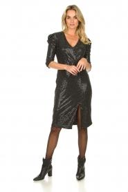 Set |  Lurex midi dress Kale | silver  | Picture 3