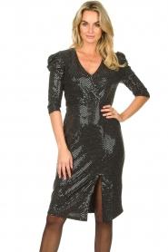 Set |  Lurex midi dress Kale | silver  | Picture 2