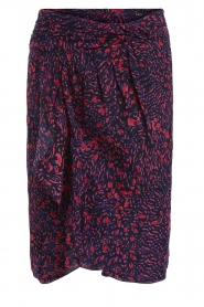 Set |  Printed midi skirt Dahlia | blue  | Picture 1