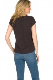 Leon & Harper | T-shirt Papillon | zwart  | Afbeelding 5
