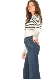 Kocca    Knitted sweater with striped Silvana   natural    Picture 6