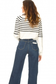 Kocca    Knitted sweater with striped Silvana   natural    Picture 7