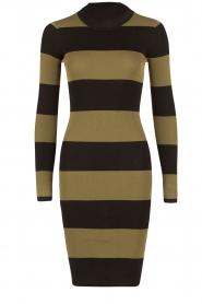 NIKKIE | Turtleneck jurk Jolie | groen  | Afbeelding 1