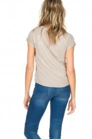 Leon & Harper | T-shirt Papillon | beige  | Afbeelding 5