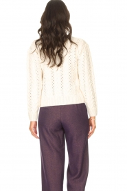 Kocca    Knitted sweater with sequins Zelig   beige    Picture 6