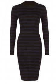 NIKKIE | Turtleneck jurk Jolie | blauw  | Afbeelding 1