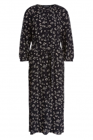 Set |  Printed midi dress Lisa | black  | Picture 1