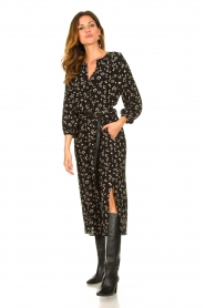 Set |  Printed midi dress Lisa | black  | Picture 2
