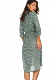 Silvian Heach |  Midi dress Zibbo | blue  | Picture 6