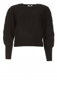 Kocca |  Knitted sweater Furio | black  | Picture 1