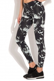 Casall | Sportlegging The Palm | pastelgroen  | Afbeelding 4