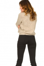 Set |  Knitted sweater Peony | beige  | Picture 5