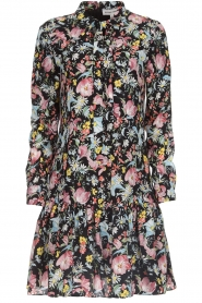 Silvian Heach |  Floral dress Zonghe | black  | Picture 1