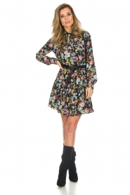 Silvian Heach |  Floral dress Zonghe | black  | Picture 3