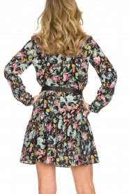 Silvian Heach |  Floral dress Zonghe | black  | Picture 5