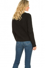 Set |  Knitted sweater Peony | black  | Picture 6